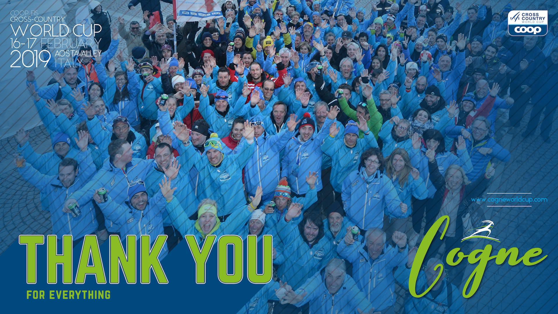 Grazie a tutti i volontari