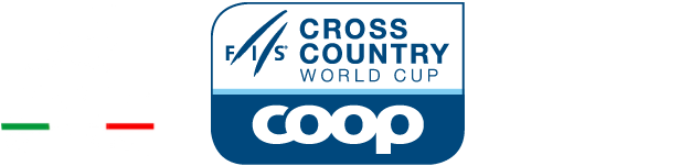Loghi Cogne-FIS bianco - Cogne World cup 2019