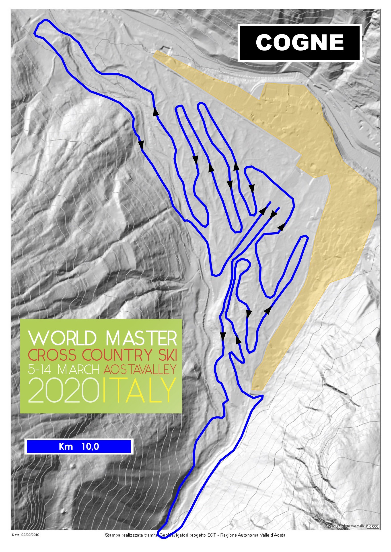 Piste WMA EN 10km track
