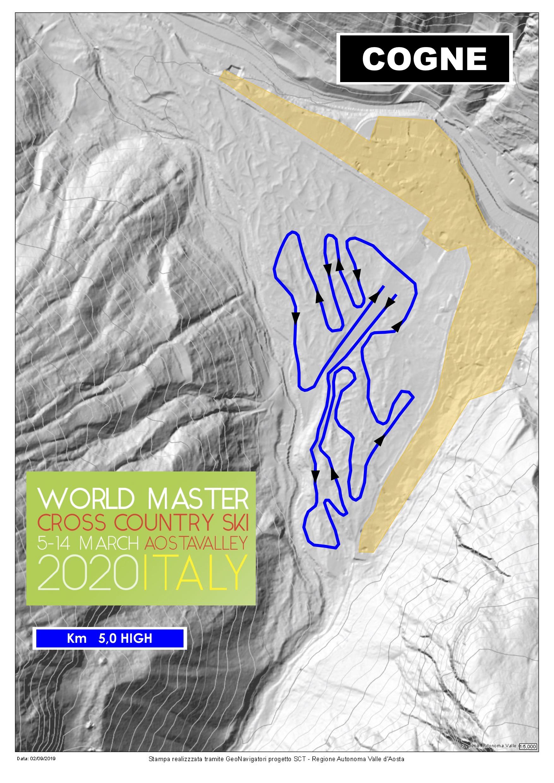 Piste WMA EN 5km high track