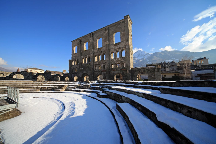 Sunday 8 march MWC2020 Aosta The Rome of the Alps
