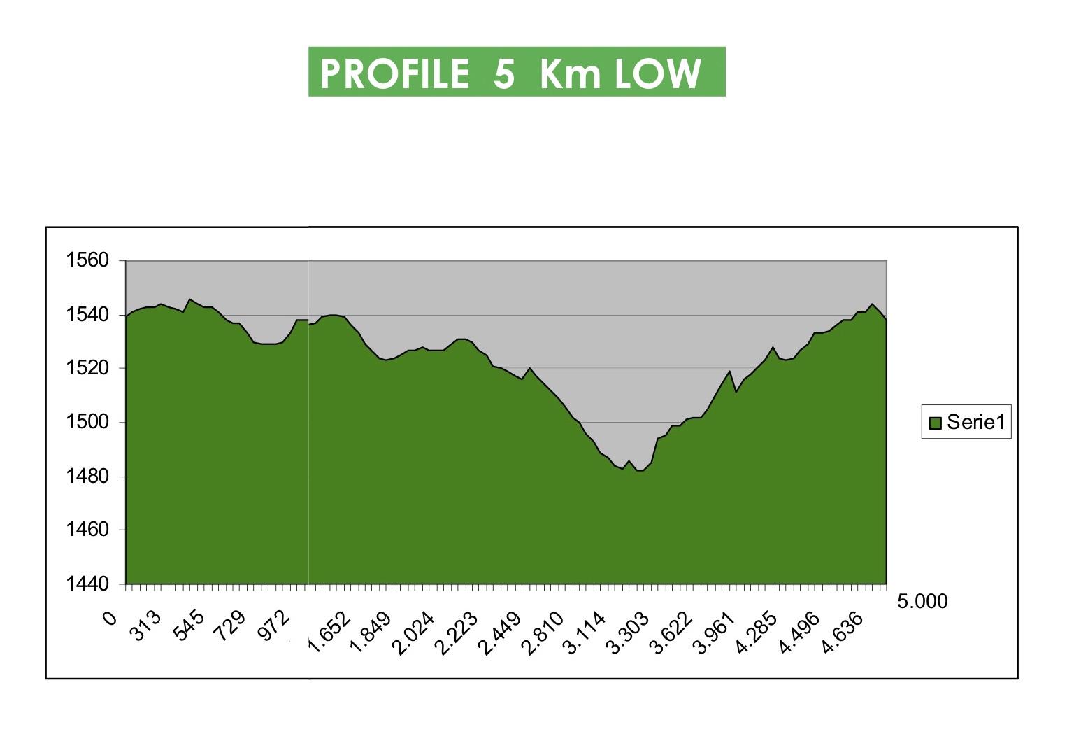 Piste WMA EN 5km low profile